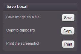 Как сделать скриншот страницы?
